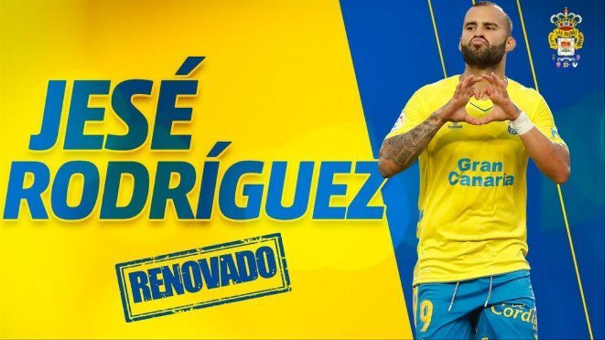 Jesé Rodríguez renueva con Las Palmas