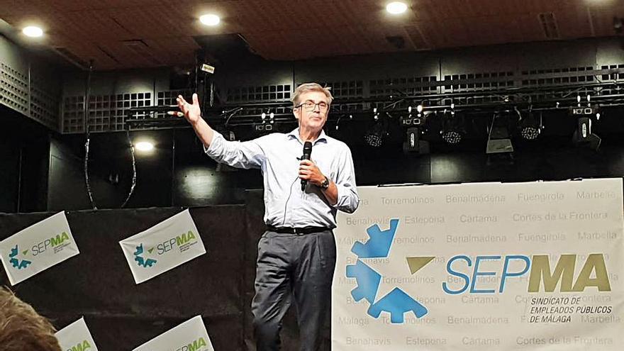 Debate en Marbella sobre la temporalidad en las administraciones públicas