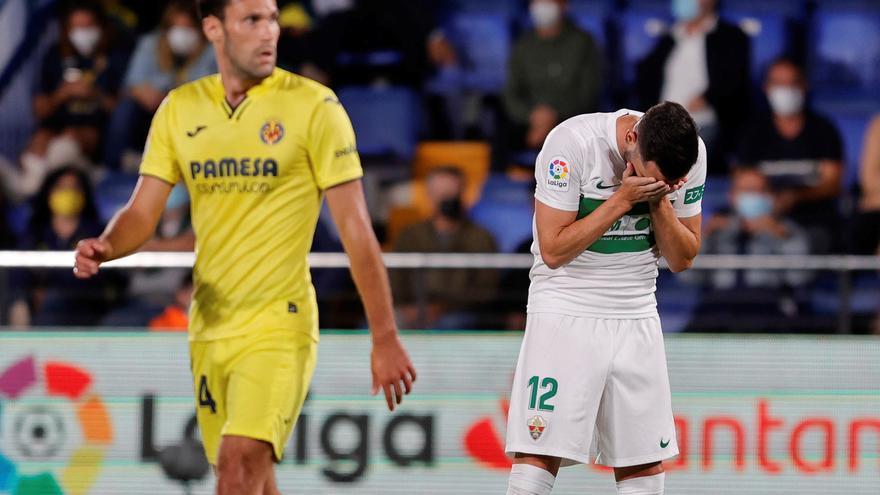 El Elche vuelve a recibir cuatro goles en Primera después de 53 partidos