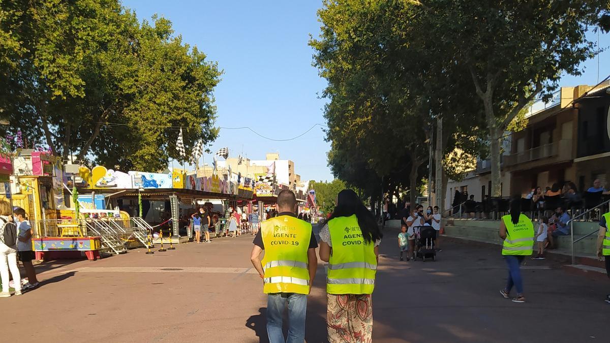 Agentes covid-19 en Bétera