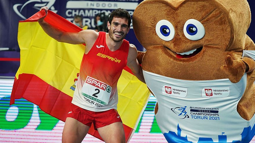 El atleta de Onil Ureña logra su tercer podio europeo consecutivo