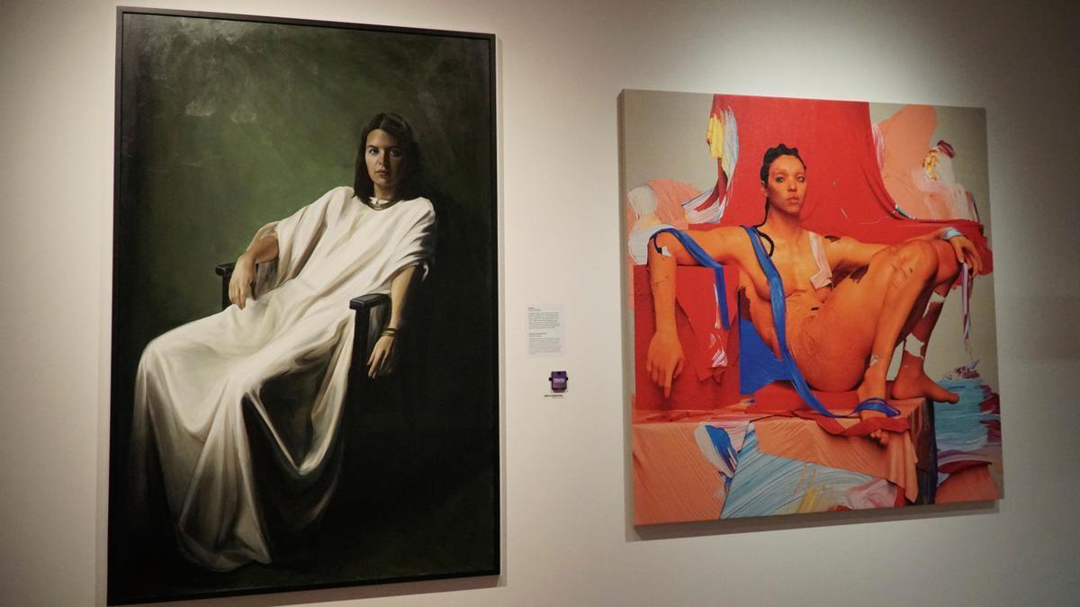 Una parte de la exposición sobre María Magdalena en los Países Bajos