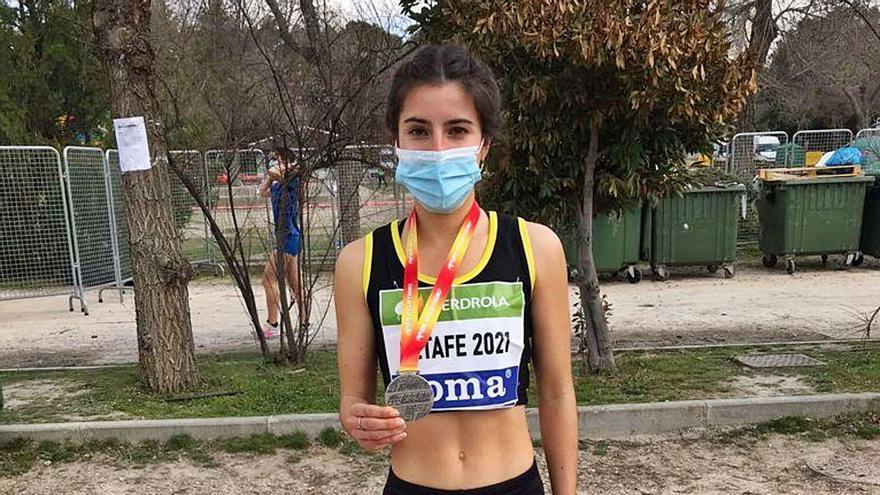 Andrea Romero se proclama subcampeona de España de cross en categoría sub-23