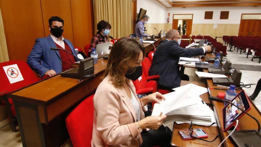 Los partidos se unen para exigir más dinero al Gobierno, pero no para pedírselo a la Junta