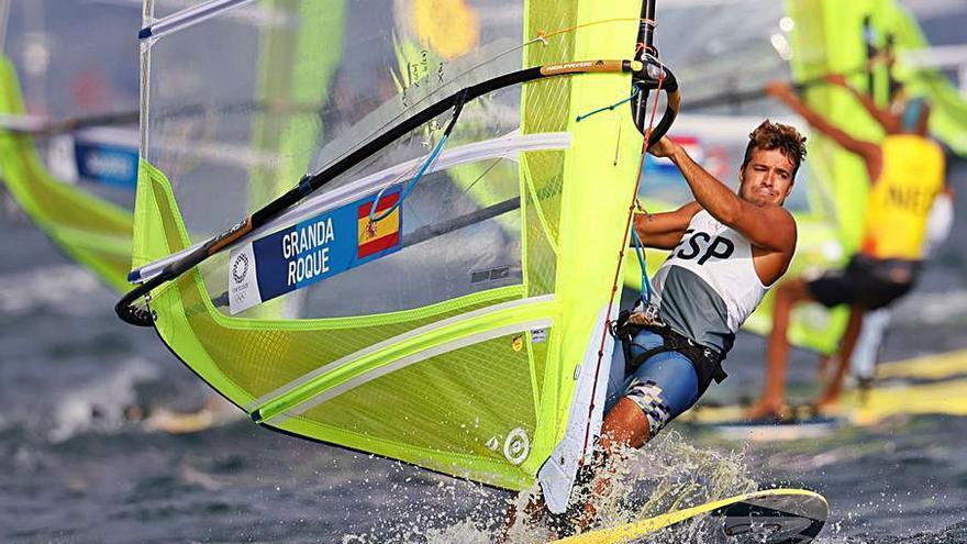 Granda cierra su capítulo en Tokio con un quinto puesto en la 'Medal Race'