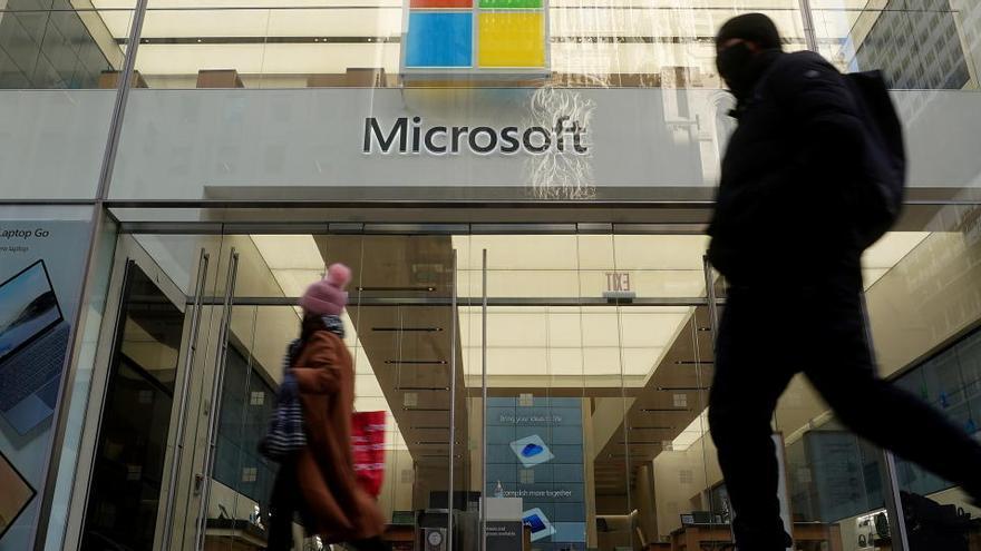 Microsoft gana 29.356 millones en seis meses, un 31% más que hace un año