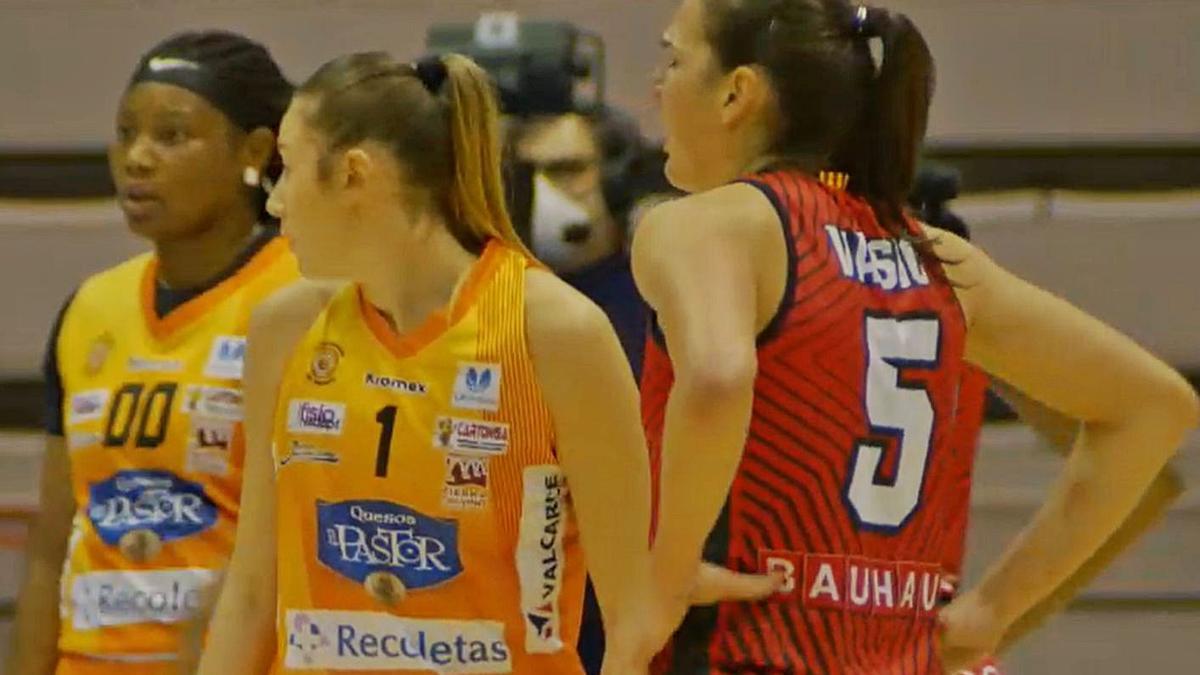 Valerya Berezhynska jugará contra el Quesos El Pastor menos de un mes después de abandonarlo. / LOZ