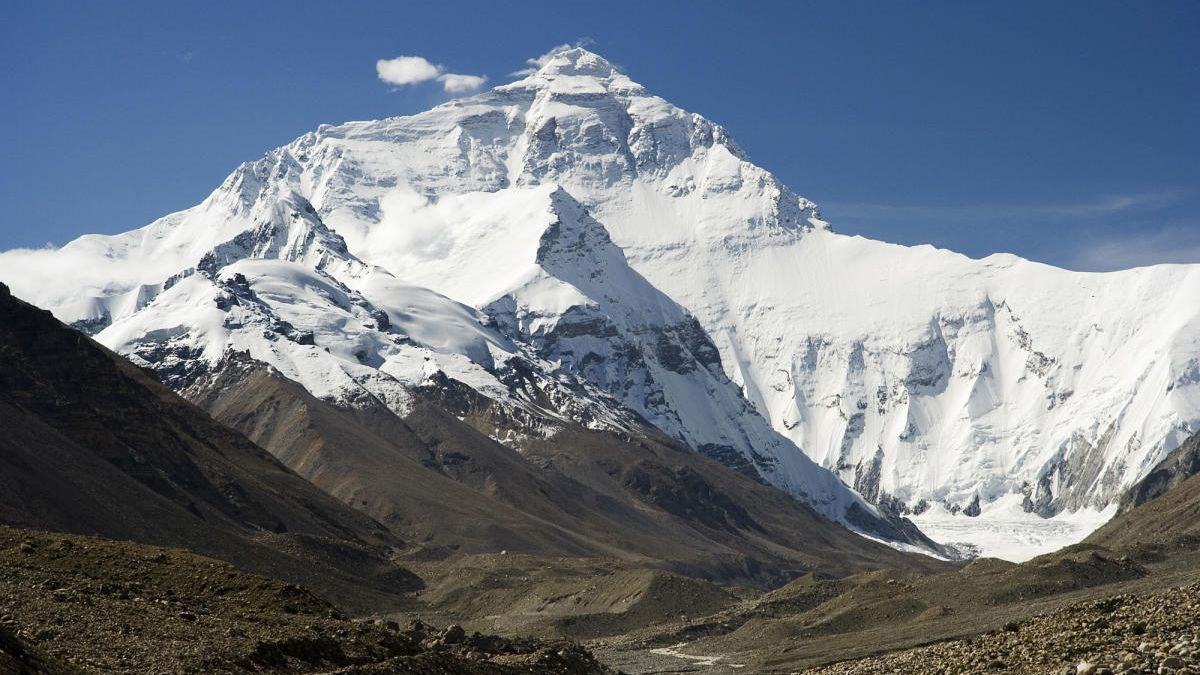Viajar con niños: El monte Everest, el techo del mundo