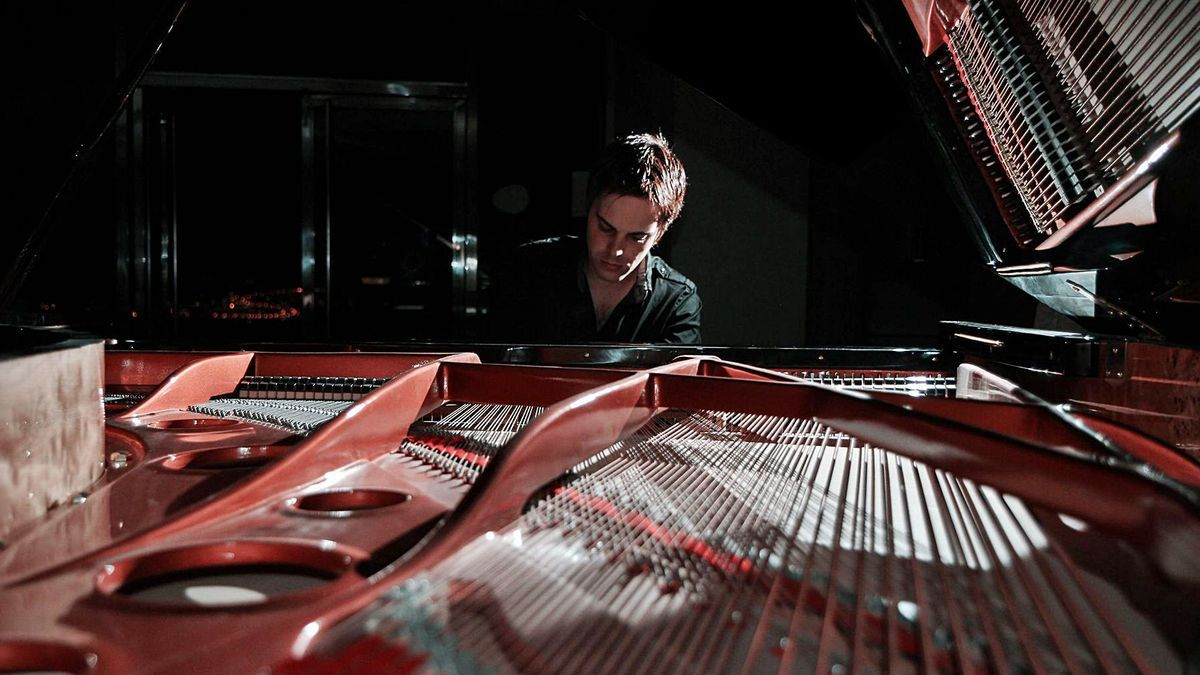 El pianista tinerfeño Ray Pherz. | | EL DÍA