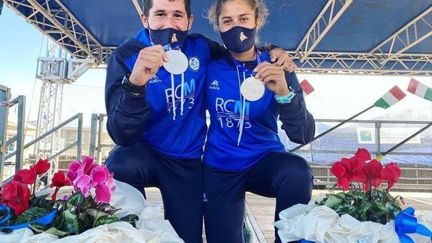 Cuatro medallas europeas en remo