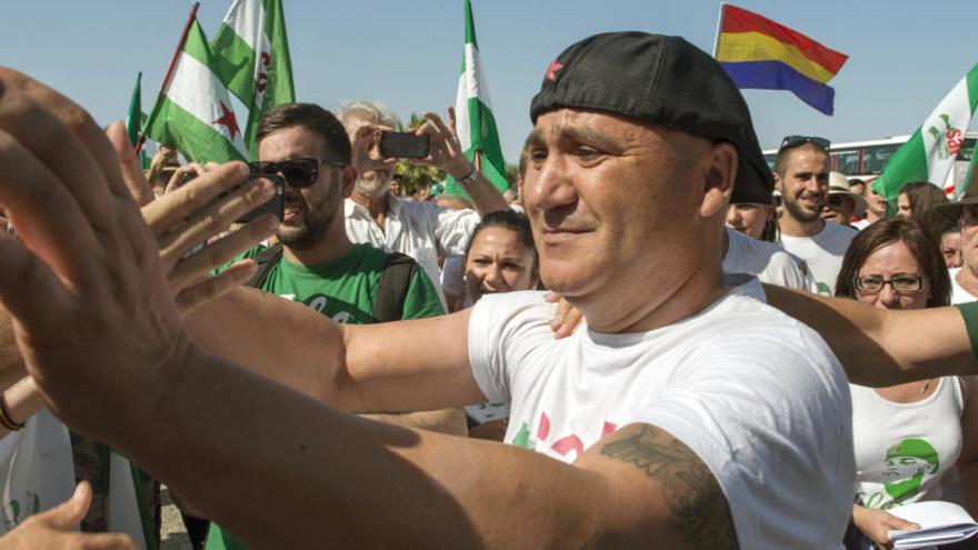 Andrés Bódalo, de permiso tras más de un año en prisión