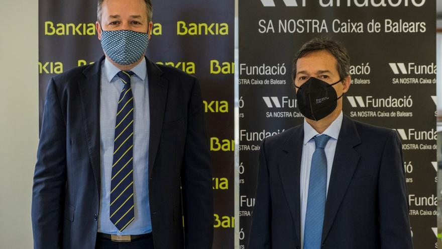 Bankia apoya con 510.000 euros a Fundació Sa Nostra para respaldar programas de acción social, medioambiental y cultural