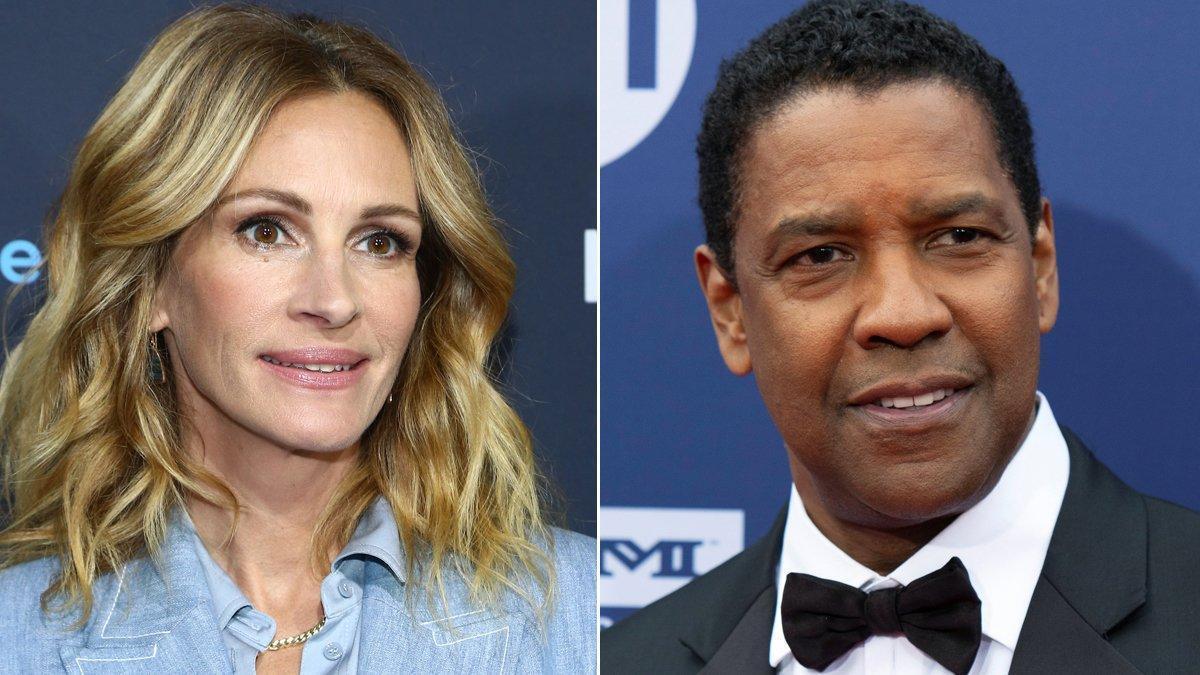 Julia Roberts y Denzel Washington volverán a trabajar juntos para Netflix