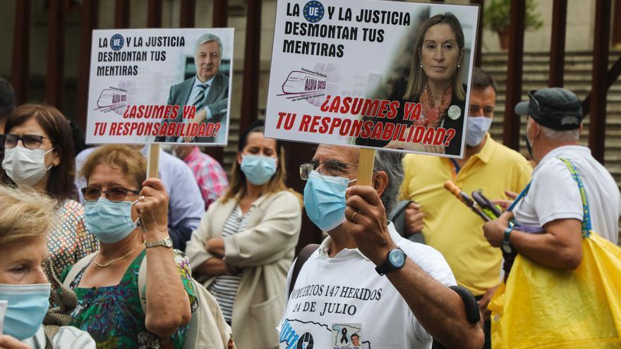 El Congreso aprueba reactivar la investigación del accidente del Alvia en Angrois