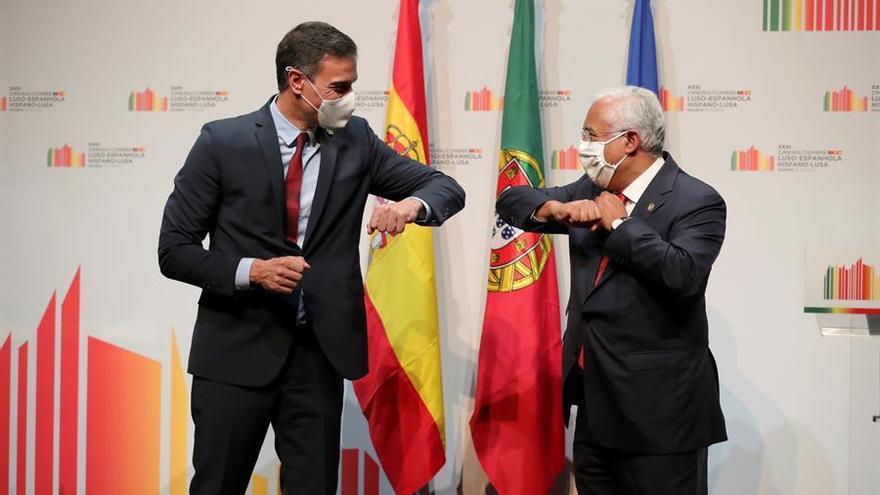 Sánchez y Costa tratarán el cierre de fronteras terrestres entre España y Portugal