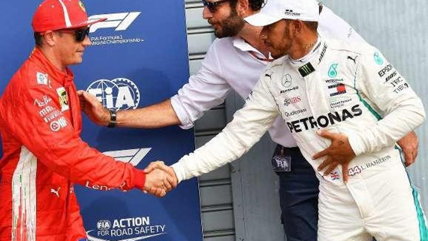 Raikkonen logra la pole en Monza con un tiempo récord