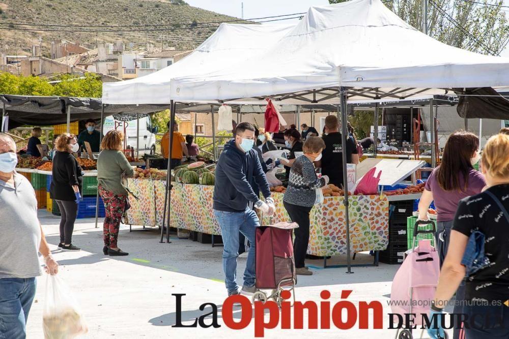 Nueva ubicación Mercado Semanal de Caravaca