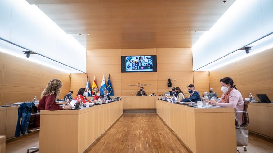 Todos los grupos del Cabildo de Tenerife rechazan los desahucios de los 'fondos buitre'