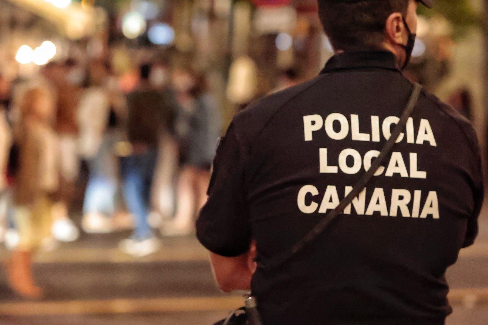 Dispositivo policial nocturno