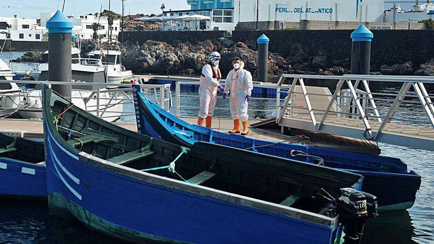 Ocho embarcaciones dejan a 340 inmigrantes en las Islas Orientales