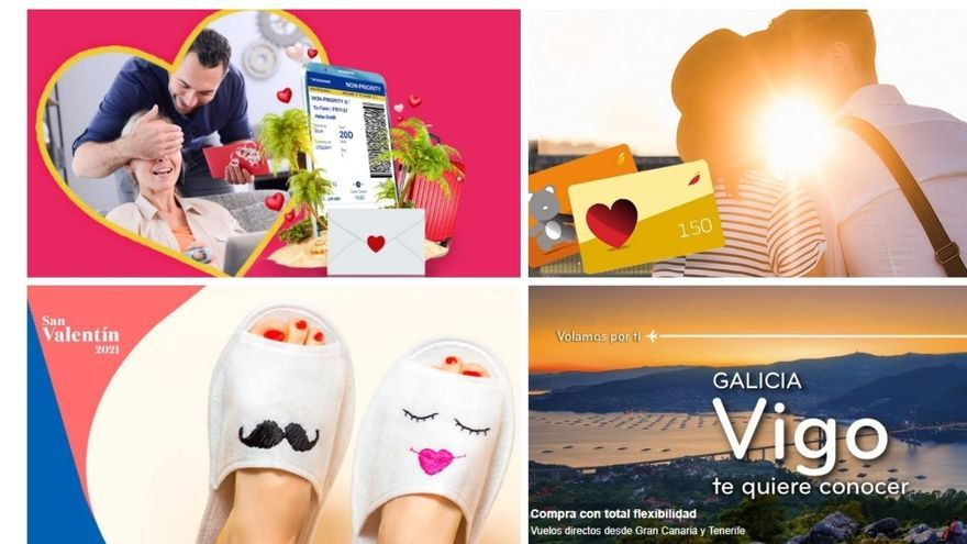 Vuelos baratos | Las aerolíneas se ponen 'tontorronas' por San Valentín