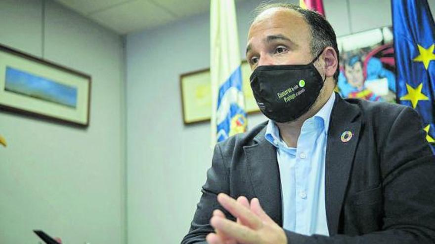 """José Antonio Valbuena: """"El gran objetivo para 2021 es aprobar la Ley Canaria de Cambio Climático"""""""