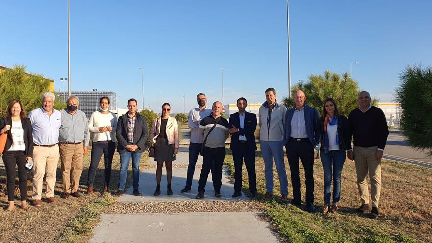 Benavente conoce el modelo logístico de Illescas, localidad toledana con el primer ecopolígono de Europa