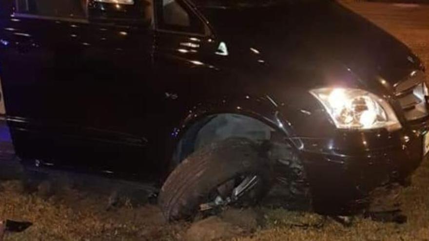 """Un conductor de Cabify, a cuatro pasajeras antes de empotrarse en una rotonda: """"Este viaje os va a salir gratis"""""""
