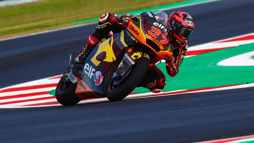 Sigue en directo la carrera del Gran Premio de Emilia Romagna de Moto2