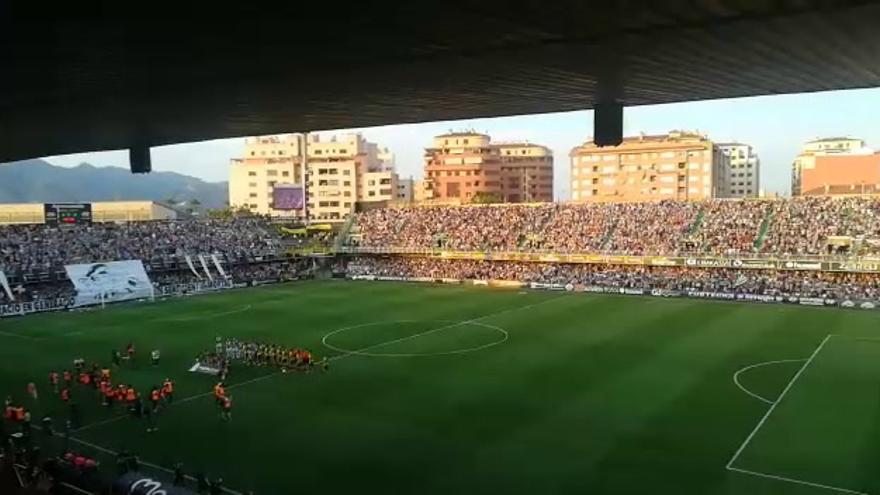 Colomer marca el gol del ascenso del Castellón a Segunda B (1-0)
