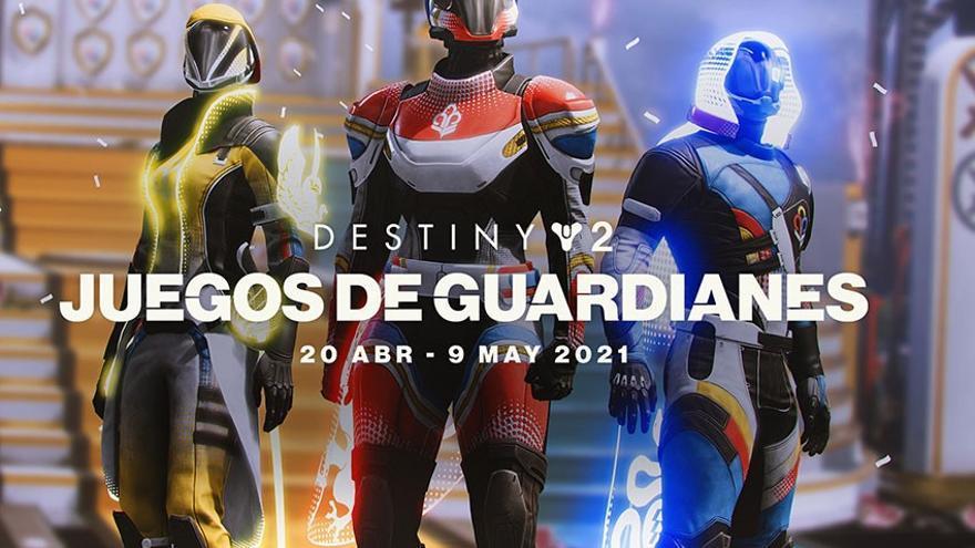 'Destiny 2: Los Juegos de los Guardines' dan comienzo ampliando su duración