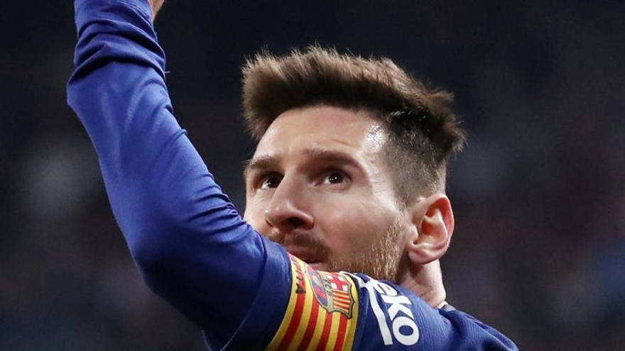 Leo Messi se calza su sexta Bota de Oro