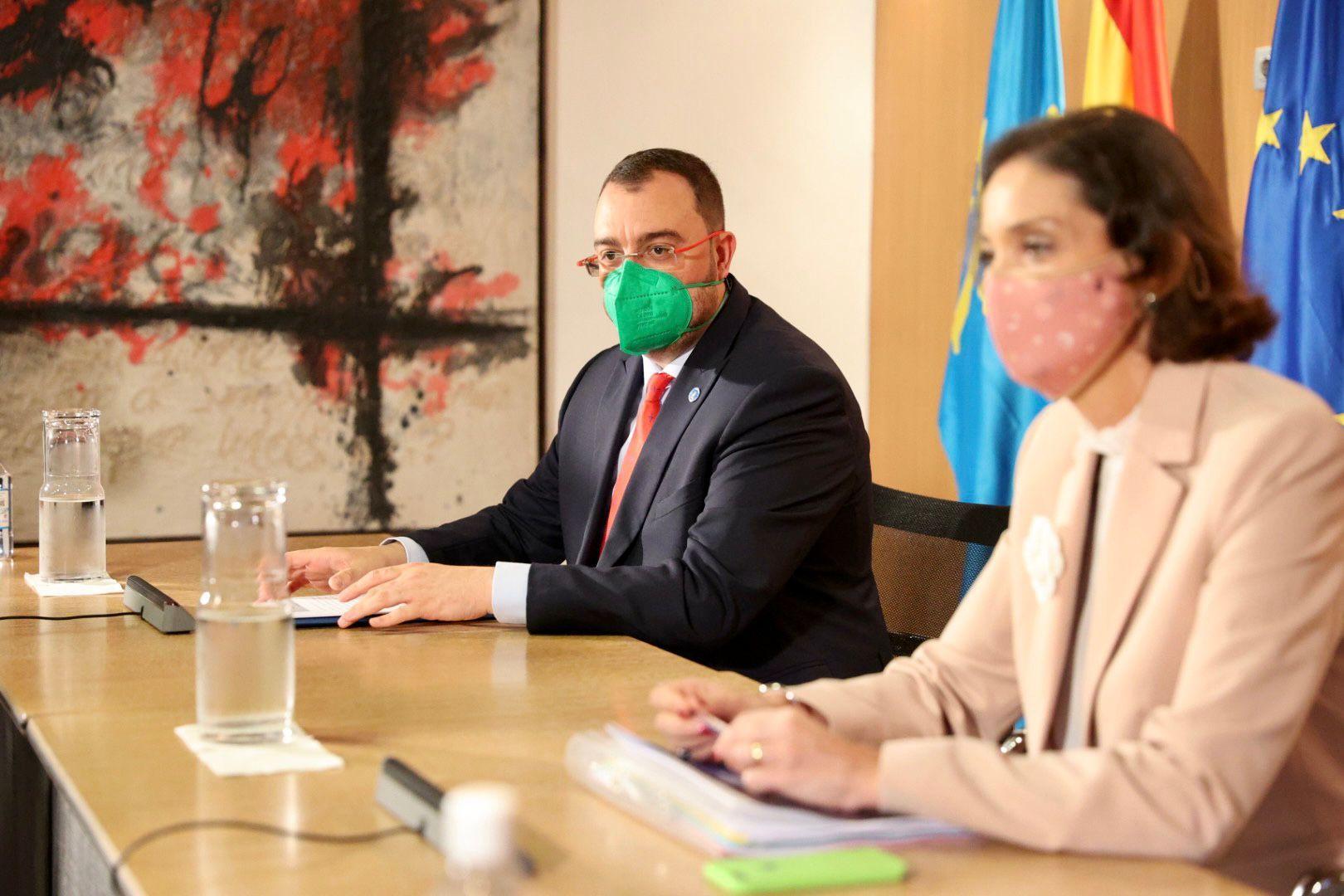 La visita de la ministra de Industria Reyes Maroto a Asturias , en imágenes