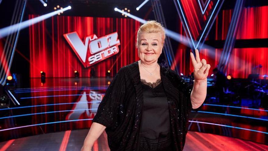 """Naida Abanovich, de cantar en la calle a ganar """"La Voz Senior"""""""