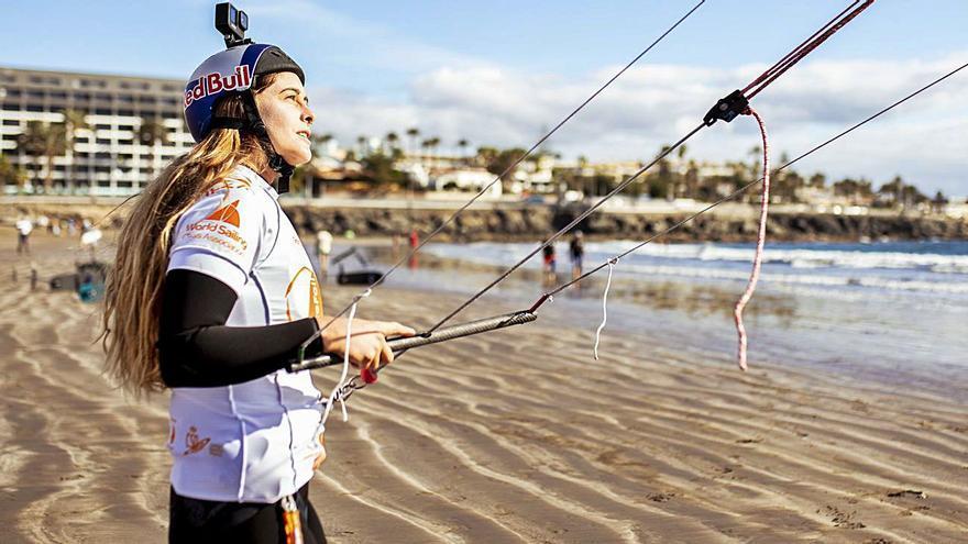 """Gisela Pulido: """"Nunca imaginé que el 'kite' llegara a ser deporte olímpico"""""""