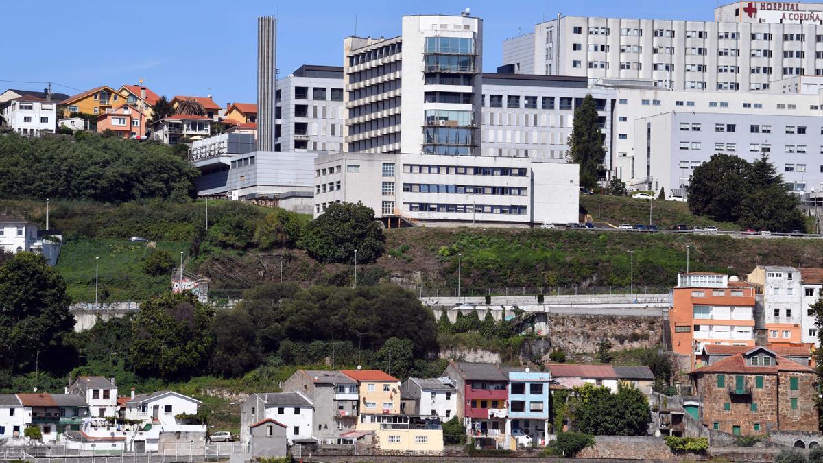 Vista de las instalaciones del Hospital Universitario de A Coruña (Chuac). / Víctor Echave