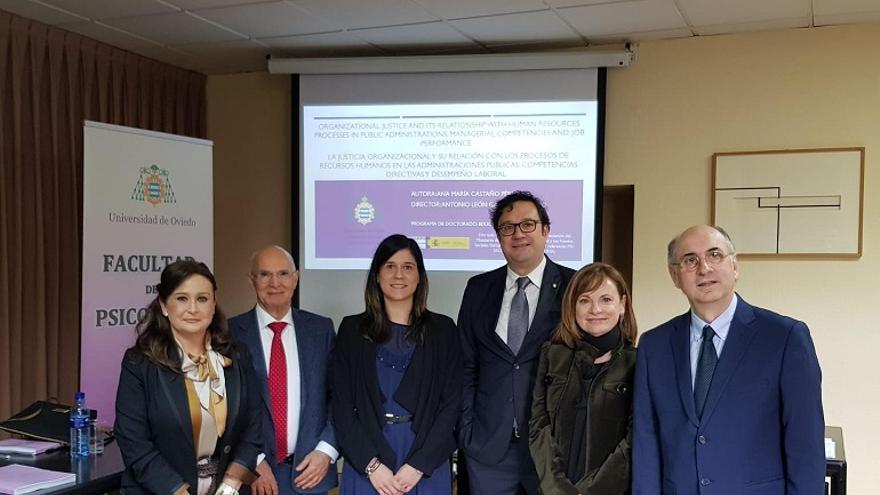 Una tesis doctoral de la Universidad de Oviedo sobre organización y recursos humanos recibe una distinción nacional