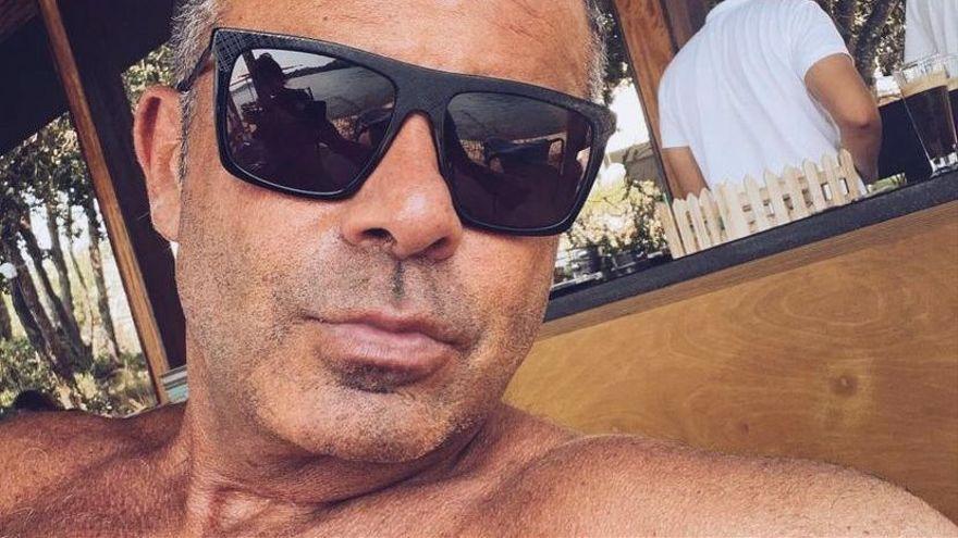 El desnudo de Jorge Javier Vázquez en Instagram