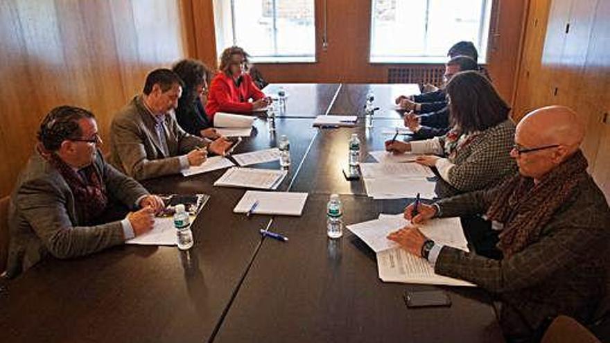 El comité técnico de Zamora 10, en una imagen de archivo.