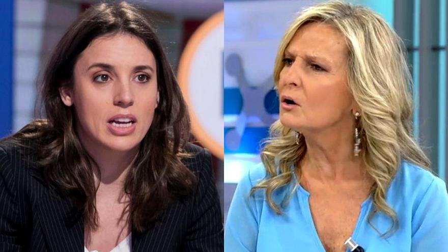 """El machismo de Isabel San Sebastián con Irene Montero: """"Niñata, has conquistado la cama de Pablo Iglesias"""""""