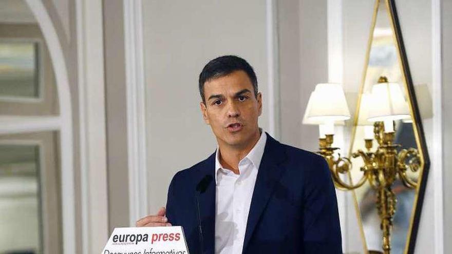 Sánchez se abre a pactar con el Gobierno un nuevo modelo de financiación