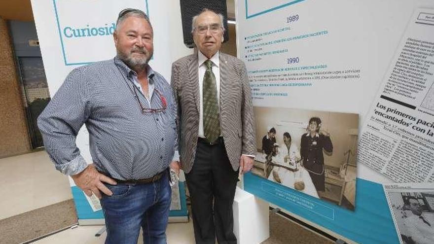 El primer paciente del Meixoeiro regresa 30 años después