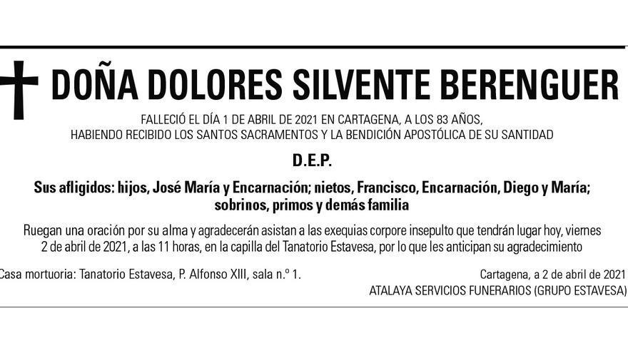 Dª Dolores Silvente Berenguer