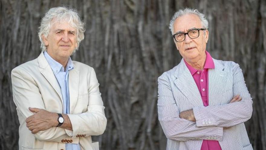 Juan José Millás y Juan Luis Arsuaga presentan 'La vida contada por un sapiens a un neandertal' en Gran Canaria