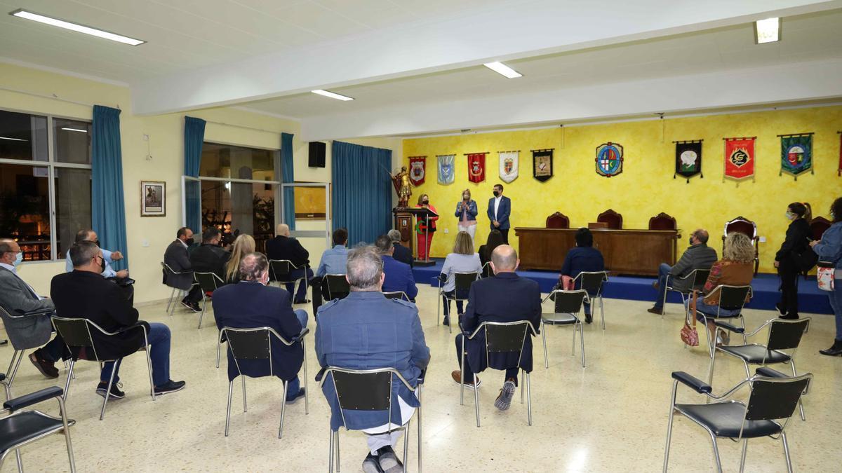 El acto de la Unión de Festejos de Petrer criticado por Ciudadanos.