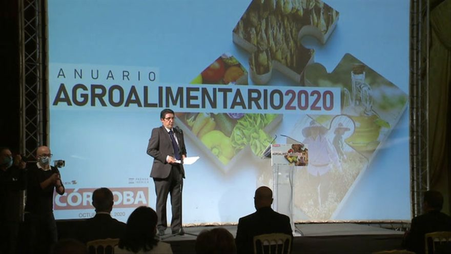 Presentación del Anuario Agroalimentario 2020