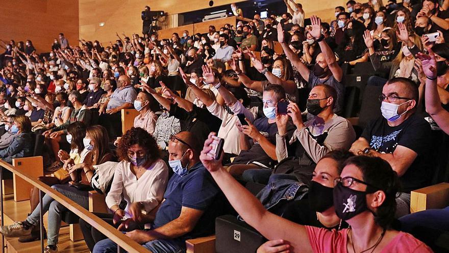 Els himnes de Sopa de Cabra triomfen un cop més a l'Auditori de Girona