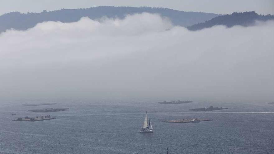 Las nieblas costeras dan un respiro a la franja atlántica