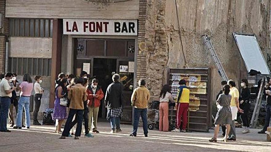 La seixantena de rodatges a Manresa en 4 anys reporten a la ciutat 2 milions d'euros