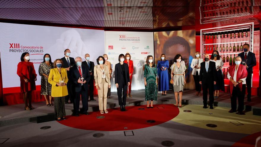 """La Reina Letizia elogia el trabajo para los desfavorecidos: """"La voluntad de cambiar las cosas funciona"""""""